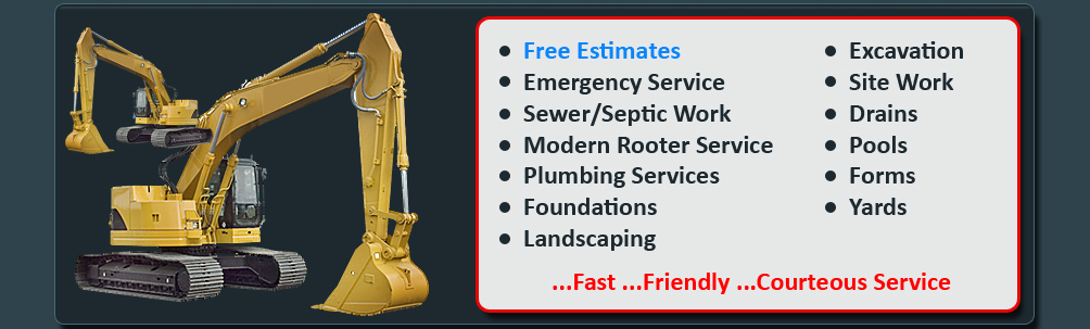 Excavation In The Berkshires, Plumbing, Septic and Sewer Repairs In Pittsfield, MA, Excavation Contractors In The Berkshires, Berkshire County